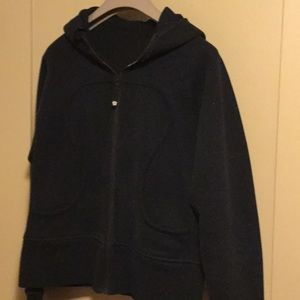 Lululemon Scuba Zip Up Sweater